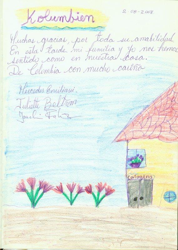 Gästebuch-Kolumbien